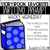 Dr. Seuss Writing Prompt: Wacky Wednesday