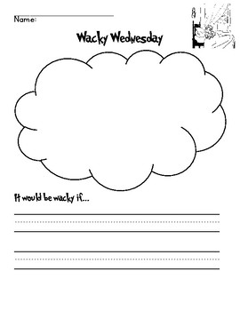 Wacky Wednesday writing