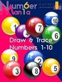 Wacky Willy Draw & Write - Numbers 1 - 10