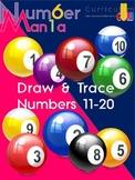 Wacky Willy Draw & Write - Numbers 11 through 20