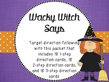 Wacky Witch Says