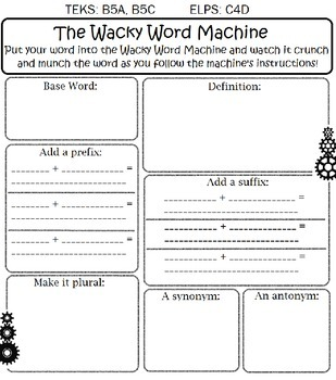 Wacky Word Machine