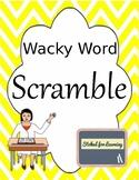 Wacky Word Scramble