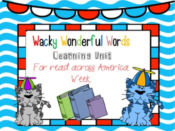 Wacky Words Learning Unit
