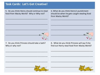 Homophone Fun! 52 Task Cards: Commonly Confused Words and Creative Writing