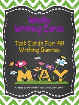 Wacky Writing Cards: May