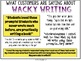 Wacky Writing Prompts and Story Starter Task Cards for the