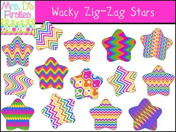 Wacky Zig-Zag Stars