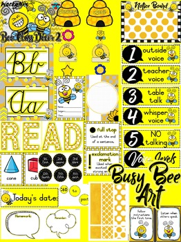 WackyNIx Bee Decor Pack 2