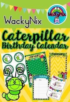 WackyNix Caterpillar Birthday Fun