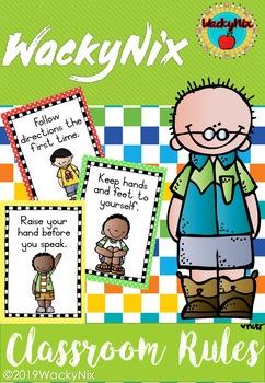 WackyNix Classroom rules