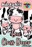 WackyNix Cow Class Decor