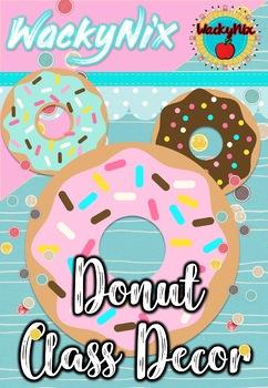 WackyNix Donut Class Decor