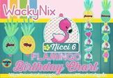WackyNix Flamingo Birthday Chart