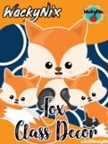 WackyNix Fox Class Decor