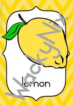 WackyNix Fruit posters