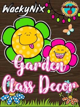 WackyNix Garden Class Decor