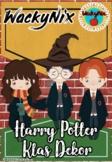 WackyNix Harry Potter Klas Dekor