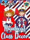 WackyNix Nautical Class Decor