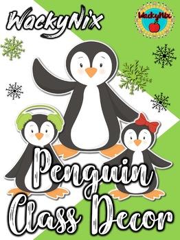 WackyNix Penguin Class Decor