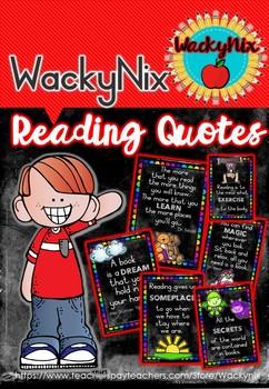WackyNix Reading Quotes