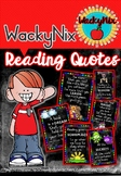 WackyNix Reading Quotes