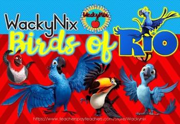 WackyNix Rio Decor