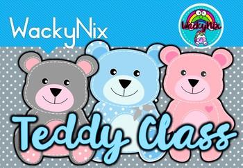 WackyNix Teddy Bear Decor