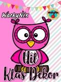 WackyNix Uil Klas Dekor