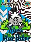 WackyNix Zebra Klas Dekor (Afrikaans)