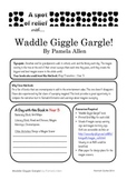 Waddle Giggle Gargle - Relief /Substitute Teacher Unit (A