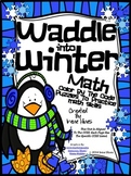 Math ~ Waddle Into Winter ~ Penguin Math Printables Color By The Code Puzzles