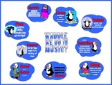 Waddle We Do In Music Bulletin Board Kit