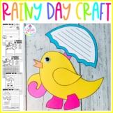 Rainy Day Craft | Spring Craft | April Bulletin Board