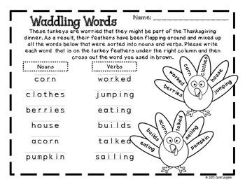 Waddling Words