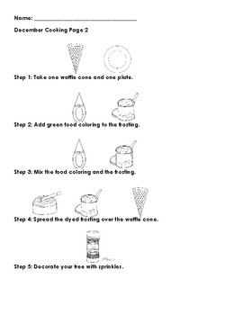 Waffle Cone Christmas Tree Recipe