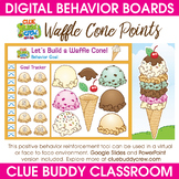 Waffle Cone Points Digital Behavior Board | Distance Learning