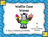 Waffle Cone Waves Matching Review Activity