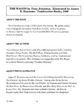 Wagon, The Literature Guide