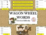 Wagon Wheel Words: Spelling, Reading, Artic. & Problem Solving Skills