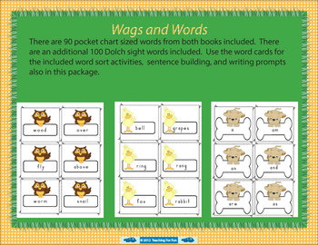 "Wags, Words, and Writing ""How Rocket Learned to Read - Writes a Story"" Unit"