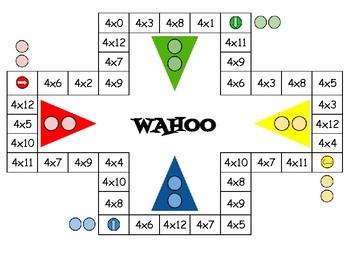 Wahoo Board Game X12 and X4