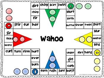 Wahoo Bossy R (ir, er, ur)