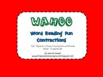 Wahoo - Contractions
