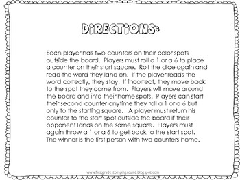Wahoo Primer Sight Word game