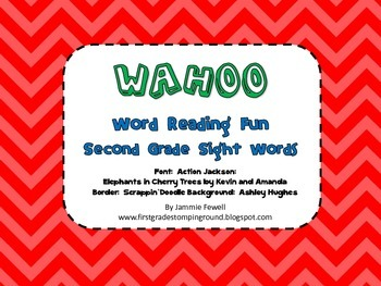 Wahoo Second Grade Dolch Sight Words