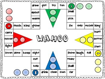 Wahoo Third Grade Dolch Sight Words