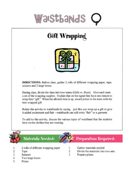 Waistbands In Garment Construction Lesson