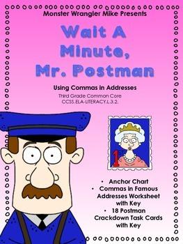 Wait A Minute Mr. Postman: Using Commas in Addresses