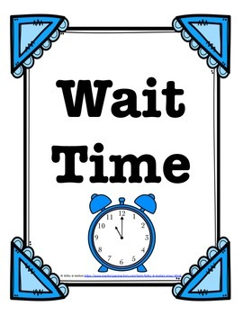 Wait Time Visual Cue